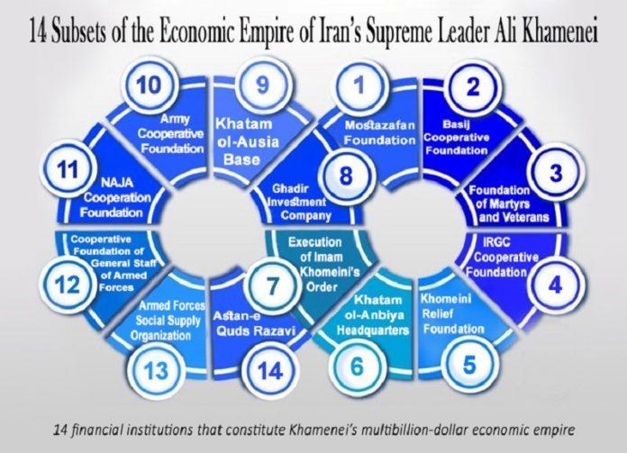 Iran's supreme leader Ali Khamenei controls massive financial empire built on property seizures