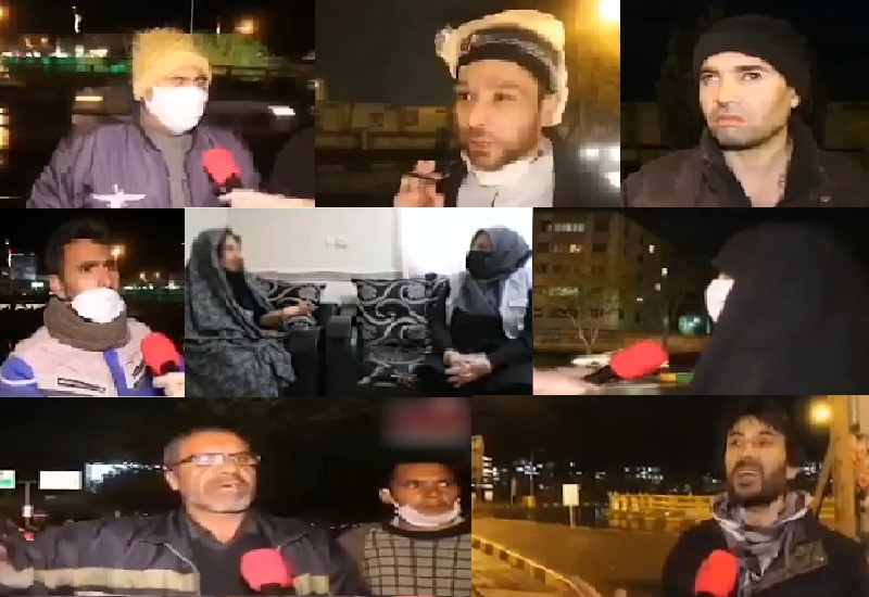 Several citizens in Mashhad city blamed the Iranian regime for its mismanagement that pushed impoverished segments of the society to misery