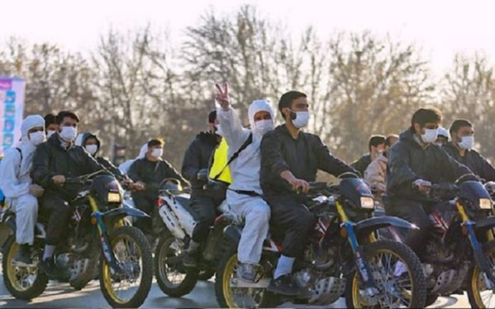 The Iranian regime mobilized its paramilitary forces to counter the public wrath under the excuse of containing coronavirus.