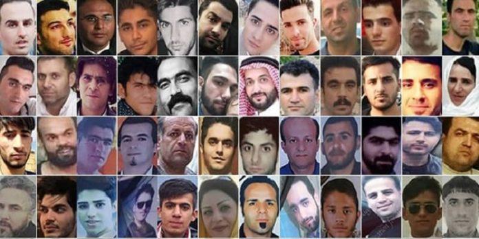 Iran november 2019 protest victims