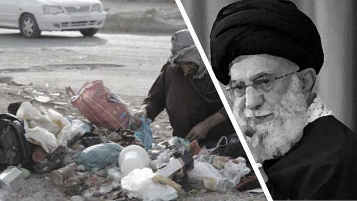 Iranian supreme leader Ali Khamenei, the main actor of the destruction of Iran