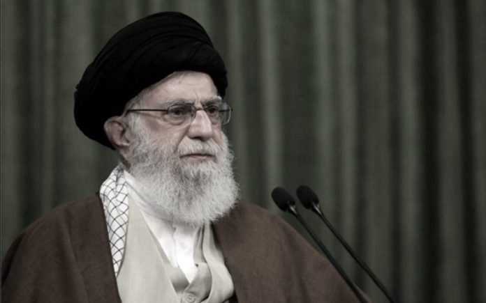 Iranian Supreme Leader Ali Khamenei revealed his concerns about anti-government protests by youths during a video conference meeting with members of paramilitary Basij forces