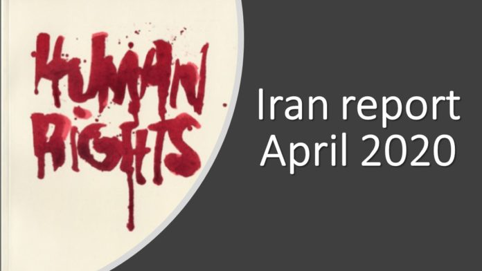 While the people of Iran suffer from the coronavirus outbreak, the regime is disrespecting their human rights and adds to their suffering.