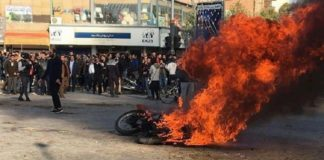 A glimpse of the people's anger against the regime in Iran during the November 2019 protests.