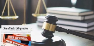 In response to a complaint about slander in Frankfurter Allgemeine Zeitung against the Iranian opposition MEK, the Hamburg court ordered FAZ on 24 June 2020 to remove all three defamatory claims against the Mojahedin from its online report and not to repeat them.