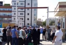 The rally of the creditors of the Zagros Arghavan Housing Project in Sanandaj