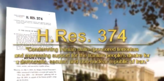 U.S. House Majority unveiled a Comprehensive Resolution to counter Iran's regime and offered a solution for a free Iran