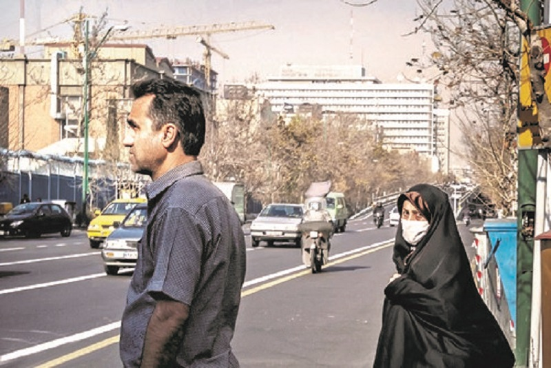 """""""This year, Tehran has been polluted with ozone for 16 days which has caused lung congestion in citizens"""""""