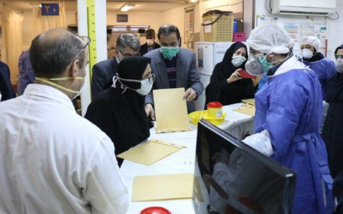 Three hundred percent increase in coronavirus victims as a result of the Iranian regime's mismanagement to contain Covid-19 crisis