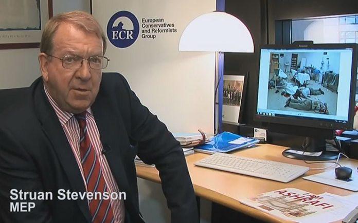 Struan Stevenson, member of the European Parliament for Scotland
