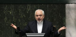 Mohammad Javad Zarif angrily defending himself desperately at the Iranian parliament. July 5, 2020