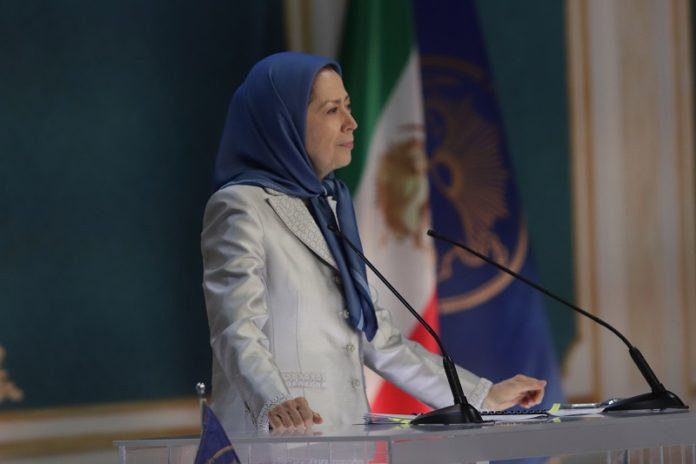 Maryam Rajavi: The clerical regime has abandoned our people in the clutches of disease, unemployment, and poverty. They do not pay workers and nurses' salaries. The only solution is replacing the mullahs' oppressive rule in Iran with people's sovereignty and the rule of democracy.