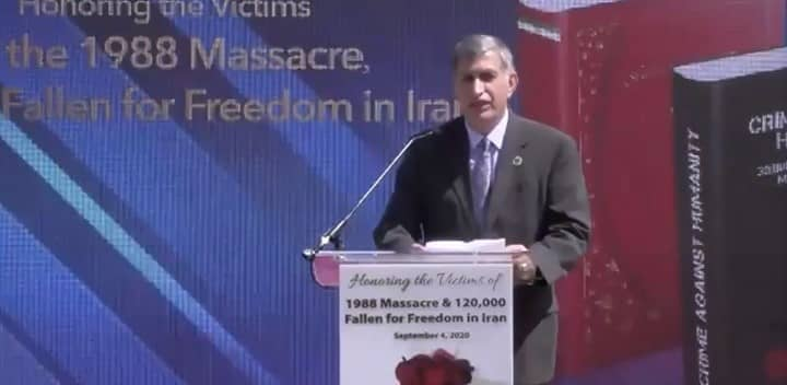 Gholam Torshizi, brother to three 1988 massacre victims