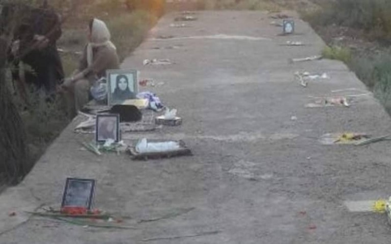 Iranian Authorities Build A Boulevard on the Graves of Political Prisoners