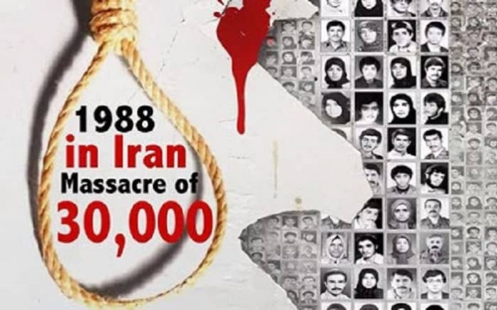 Parliamentary conference by a cross-party group of members of the House of Commons and House of Lords condemned human rights violations in Iran, including the massacre of 30,000 political prisoners in 1988