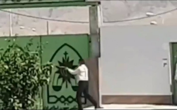 In an oppressive act, Iran's Traffic Police opened fire on fed-up people in Kohgiluyeh and Boyer Ahmad province
