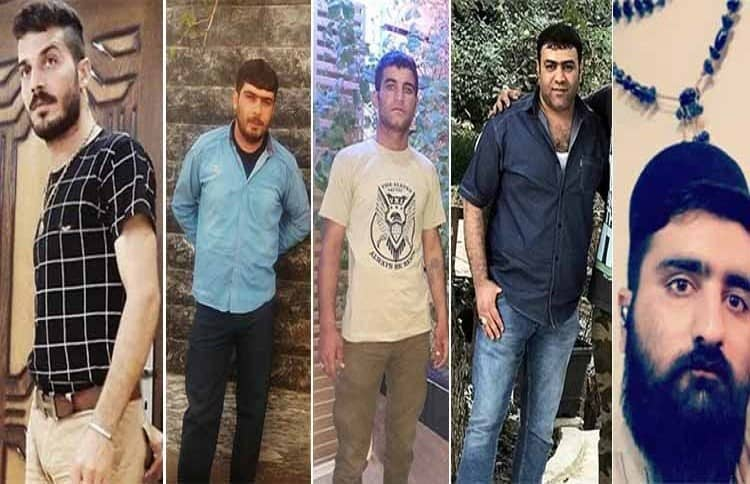 Mehdi Salehi Ghale Shahrokhi, Mohammad Bastami, Majid Nazari Kondori, Hadi Kiani, and Abbas Mohammadi sentenced to death