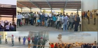 The 18th day of the strike of workers in Iran's oil and petrochemical industries and power plants