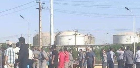 As the Iranian regime spends billions of dollars on advancing its aggressive strategy in the Middle East and across the globe, many Iranian oil employees and workers had to stop working and launch a strike to show their ire against authorities' indifference
