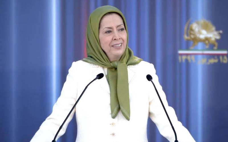 Maryam Rajavi, President-elect of the National Council of Resistance of Iran-NCRI speech at the Iranian online conference in support of domestic protests for freedom, justice, and equality in Iran—September 5, 202