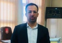 Mehrdad Tahmtan, the head of Branch 1 of the Criminal Court in Iran's Fars province who sentenced Navid Afkari to two death penalties