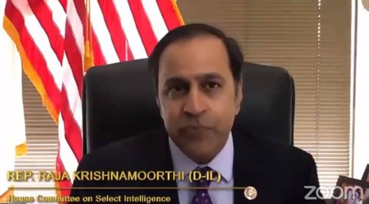 Rep. Raja Krishnamoorthi (D-Illinois)