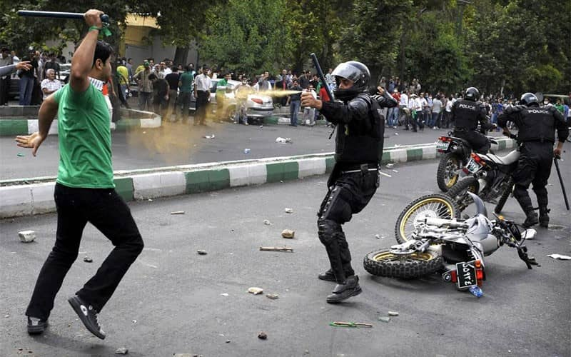 As Iranian authorities show no mercy against protesters, people grasp that they should use their all capacity to counter the suppression