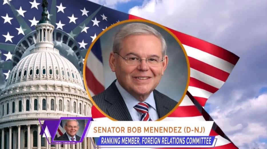 U.S. Senator Bob Menendez, at the online event calling for international support for a free Iran, imposing sanctions targeting the regime & holding the mullahs accountable for their ongoing crimes