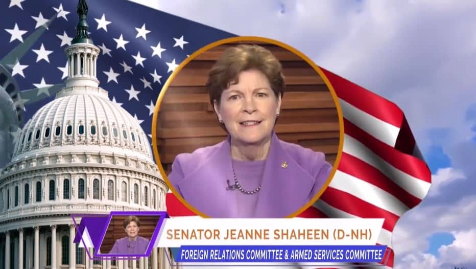 U.S. Senator Jeanne Shaheen, at the online event calling for international support for a free Iran, imposing sanctions targeting the regime & holding the mullahs accountable for their ongoing crimes