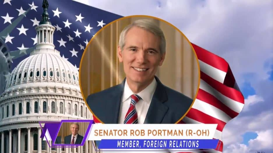 U.S. Senator Rob Portman, at the online event calling for international support for a free Iran, imposing sanctions targeting the regime & holding the mullahs accountable for their ongoing crimes