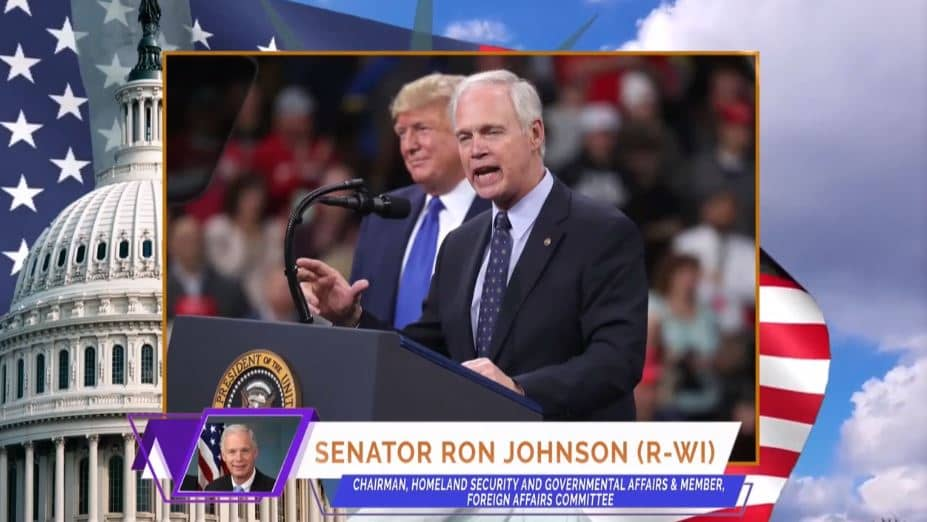 U.S. Senator Ron Johnson, at the online event calling for international support for a free Iran, imposing sanctions targeting the regime & holding the mullahs accountable for their ongoing crimes