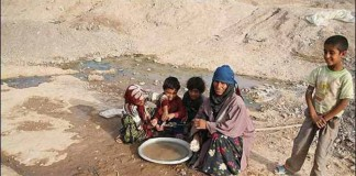 A glance to the Iranian people's dilemma over the water shortage in different provinces and the government's role in making the crisis more sophisticated