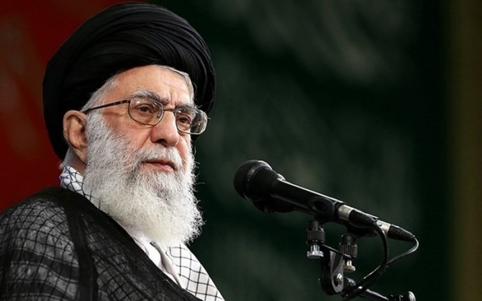 Iranian supreme leader Ali Khamenei has established an economic empire while Iranian citizens are eating their flesh and blood to remain alive.