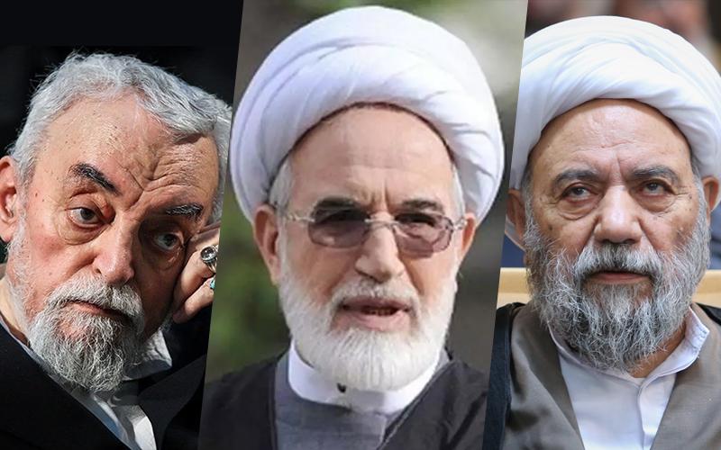 EIKO founders Habibollah Asgar-Oladi, Mehdi Karroubi, and Hassan Sane'i