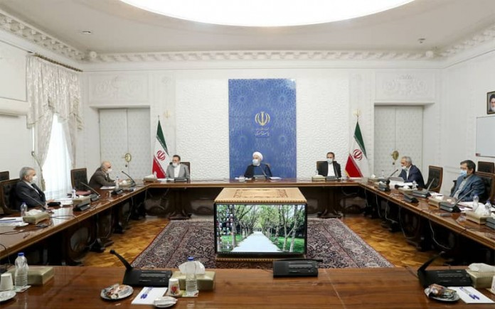 Iranian President Hassan Rouhani claims that the people waste foodstuffs while over 60 million Iranians live below the poverty line