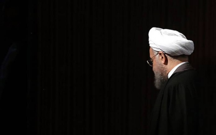 Iranian President Hassan Rouhani addresses the White House as the source of Iran's crises to cover-up his terrible failures and performance in the past seven years