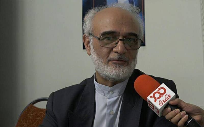 Mohammad Javad Iravani, the EIKO second chief, member of the supreme leader Ali Khamenei's office and the Expediency Council