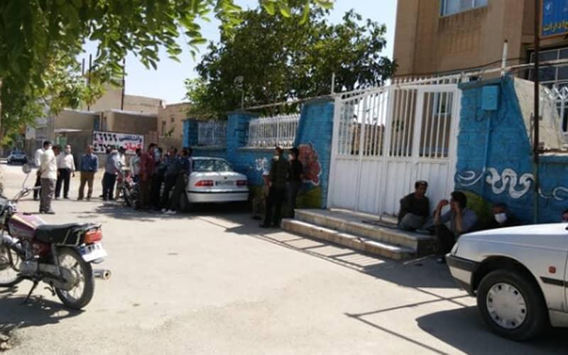 Municipal Personnel Protest in Qorveh, Kurdistan Province
