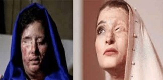 Sensitive Image - Iranian women who fell victim to government-backed acid attacks slam the supreme leader Ali Khamenei representatives due to their hate-mongering remarks