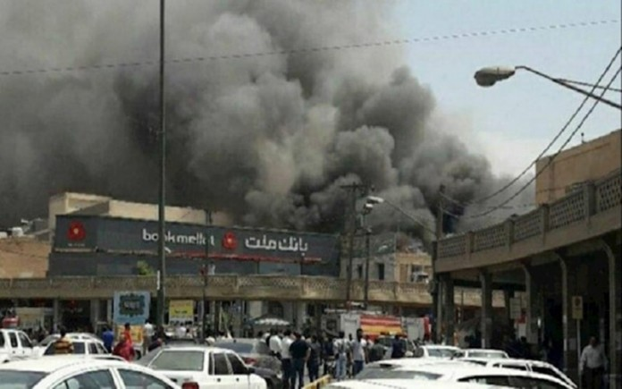 In 2019, alongside oppressive sites and gas stations, Iranian fed-up citizens set banks ablaze as symbols of the regime's 41-year corruption.