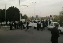 Employees of a healthcare company in Yazd province protest systematic discrimination and the Health Ministry's indifference.