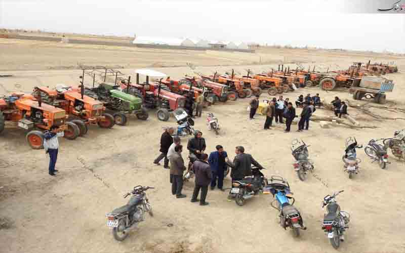 Farmers hold protests in Iran in October 2020