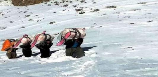 Iranian Porters 'Kolbars' Murdered by Regime Forces
