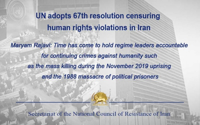 Time has come to hold Iran regime leaders accountable for continuing crimes against humanity—Maryam Rajavi