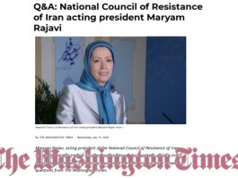 Khamenei and Rouhani aim to prevent uprisings and their inevitable overthrow by using the pandemic as a method of suppression—Maryam Rajavi.