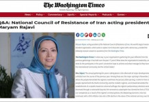 Maryam Rajavi: The Iranian Resistance calls for the re-imposition of the six UN Security Council resolutions against this regime.
