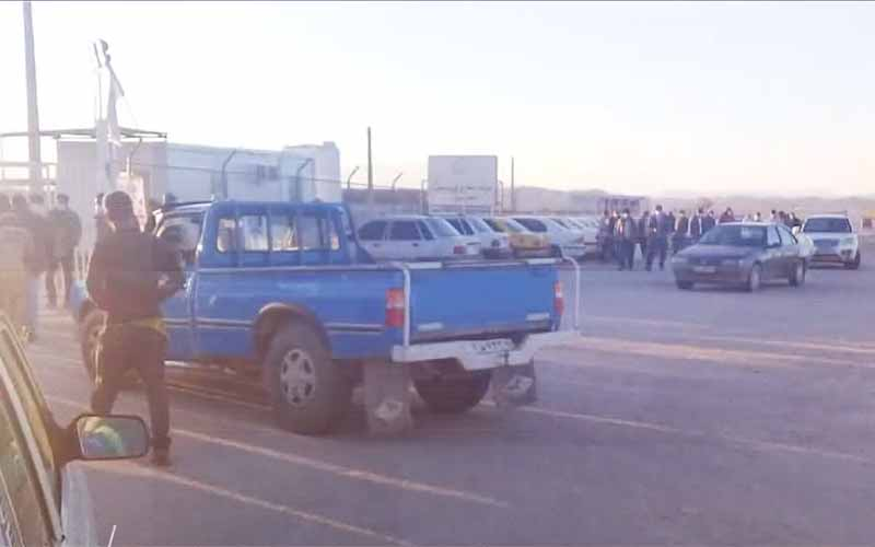 Dehdasht Petrochemical Workers' Rally