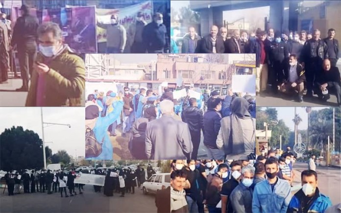 Only two days before the end of 2020, Iranians once again vented their anger against the regime's mismanagement and plundering policies.