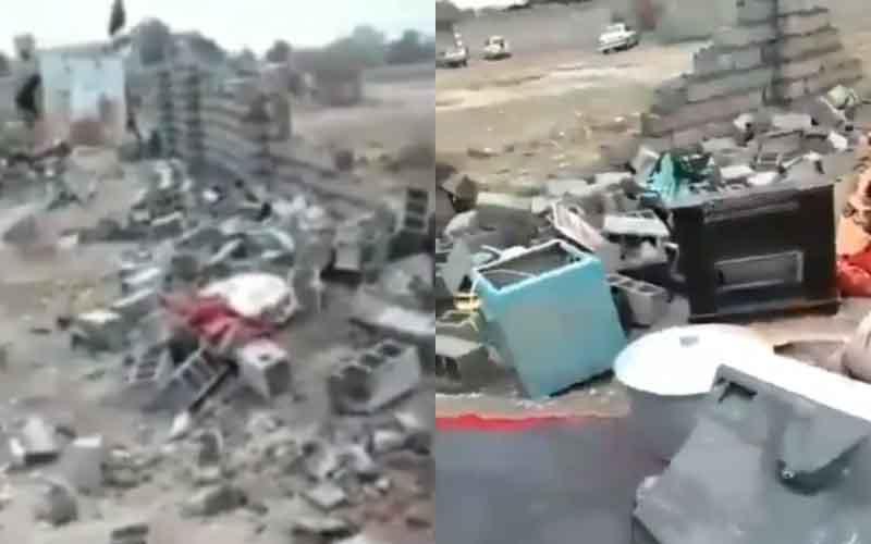 Kotamadya Menghancurkan Gudang