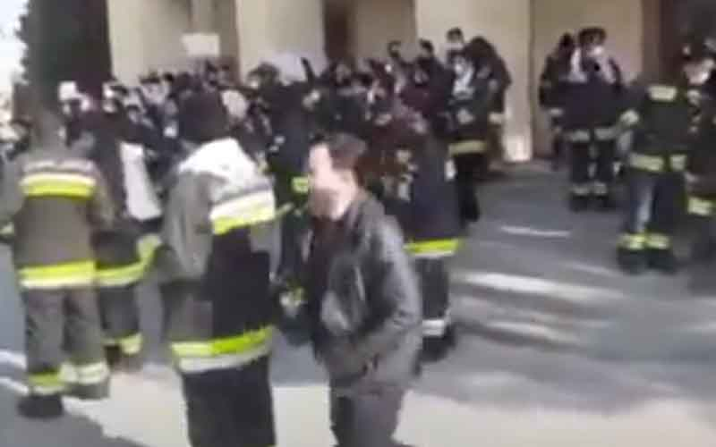 Rally of Firefighters